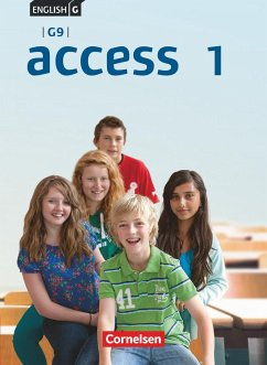 English G Access - G9 - Band 1: 5. Schuljahr - Schülerbuch - Harger, Laurence; Niemitz-Rossant, Cecile J.