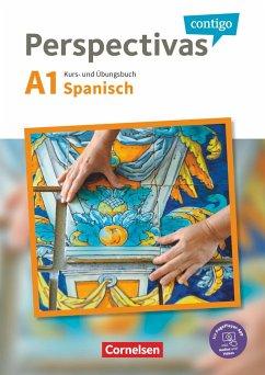 Perspectivas contigo A1 - Kurs- und Übungsbuch mit Vokabeltaschenbuch - Bürsgens, Gloria; González Arguedas, Jaime; Vicente Álvarez, Araceli