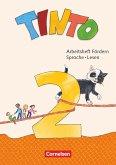 Tinto Sprachlesebuch 2. Schuljahr - Arbeitsheft Fördern - Sprache und Lesen