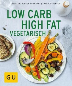 Low Carb High Fat vegetarisch (Mängelexemplar) - Vormann, Jürgen; Stenger, Malika
