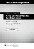 Holzer Stofftelegramme Groß- und Außenhandelskauffrau/-mann. Lösungen. Baden-Württemberg