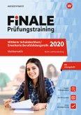 FiNALE Prüfungstraining 2020 Mittlerer Schulabschluss, Fachoberschulreife, Erweiterte Bildungsreife Berlin. Mathematik