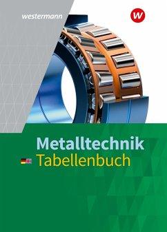 Metalltechnik Tabellenbuch - Krause, Peter;Falk, Dietmar;Tiedt, Günther