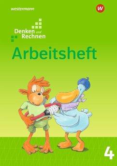 Denken und Rechnen 4. Arbeitsheft. Allgemeine Ausgabe