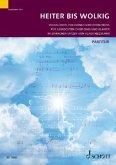 Heiter bis wolkig, für gemischten Chor (SAB) und Klavier, Chorbuch / Chorleiterband