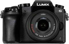 Panasonic Lumix DMC-G70 Kit schwarz + H-FS 14-42