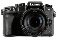 Panasonic Lumix DMC-G70 Kit schwarz + 14-140 Power OIS