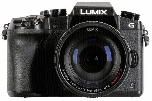 Panasonic Lumix DMC-G70 Kit schwarz + 14-140 Power OIS