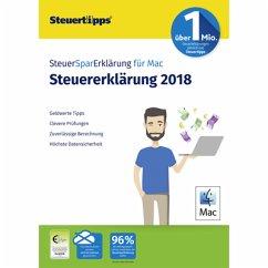 SteuerSparErklärung MAC 2019 (für Steuerjahr 2018) (Download für Mac)