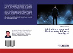 Political Uncertainty and Risk Reporting: Evidence from Egypt