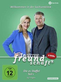 In aller Freundschaft 21. Staffel Teil 1 DVD-Box - Rühmann,Thomas/Loewig,Andrea Kathrin