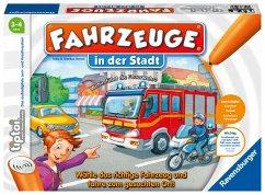 Ravensburger 00848 - Tiptoi, Fahrzeuge in der Stadt, Lernspiel, Gesellschaftsspiel