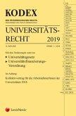 KODEX Universitätsrecht 2019