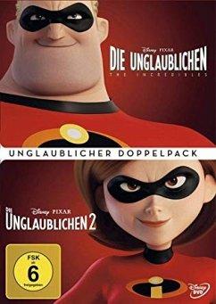Die Unglaublichen 1 + 2 Doppelpack DVD-Box