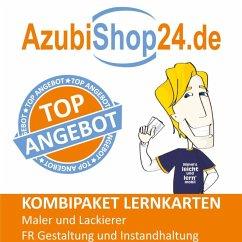 AzubiShop24.de Kombi-Paket Maler und Lackierer FR Gestaltung und Instandhaltung + Wirtschafts- und Sozialkunde - Christiansen, Jennifer; Schöler, Anna-Maria