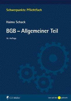 BGB-Allgemeiner Teil - Schack, Haimo