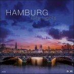 Hamburg City Lights 2020 - Großformatkalender