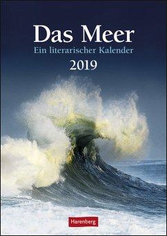 Das Meer - Wochen-Kulturkalender 2020 - Gropp, Birgit