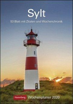 Sylt 2020 Wochenplaner - Bäck, Christian