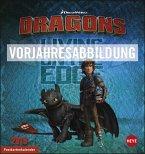 Dragons Postkartenkalender - Kalender 2020
