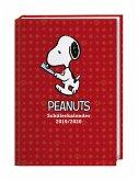 Peanuts 17-Monats-Kalenderbuch A6 - 2020