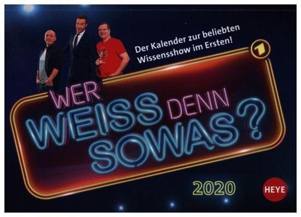 Wer Weiss Denn Sowas Tagesabreisskalender 2020 Kalender Portofrei Bestellen