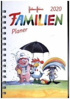Helme Heine Familienplaner Buch A5 - Kalender 2020 - Heine, Helme