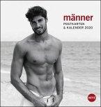 Männer 2020. Postkartenkalender