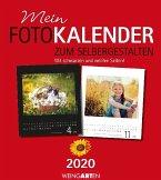Mein Fotokalender zum Selbergestalten 2020, rot