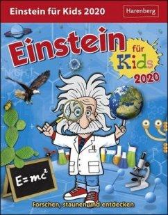 Einstein für Kids - Kalender 2020 - Ahlgrimm, Achim; Rüter, Martina