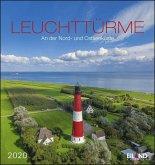 Leuchttürme 2020 - Postkartenkalender