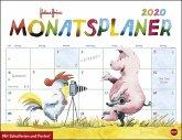 Helme Heine Monatsplaner - Kalender 2020
