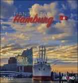 Hansestadt Hamburg 2020 - Postkartenkalender