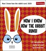 Now I know how the rabbit runs - Kalender 2020