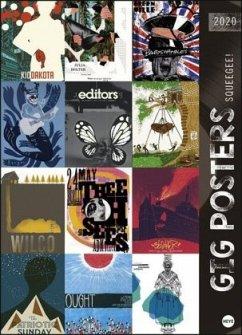 Gig Posters Edition - Kalender 2020