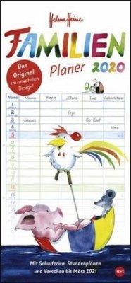 Helme Heine Familienplaner - Kalender 2020 - Heine, Helme