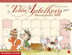 Tilda Apfelkern Monatsplaner Kalender 2020