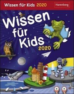 Wissen für Kids - Kalender 2020 - Goics, Silvia; Schlitt, Christine