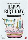 Geburtstagskalender zum Selbstgestalten DIN A4