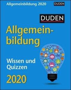 Duden Allgemeinbildung 2020 - Huhnold, Thomas