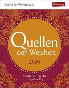 Quellen der Weisheit - Kalender 2020 - Bambach, Eva; Gassen, Gabriele