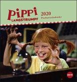 Pippi Langstrumpf Postkartenkalender 2020