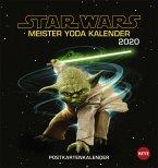 Star Wars - Meister Yoda Postkartenkalender 2020