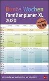Bunte Wochen FamilienPlaner XL - Kalender 2020