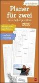 Planer für Zwei zum Selbstgestalten 2020