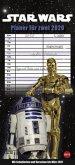 Star Wars Planer für zwei Kalender 2020