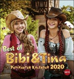 Bibi & Tina Postkartenkalender - Kalender 2020