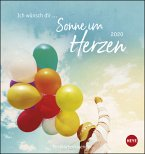 Ich wünsch dir... Sonne im Herzen - Postkartenkalender 2020