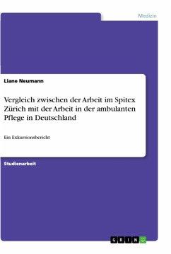 Vergleich zwischen der Arbeit im Spitex Zürich mit der Arbeit in der ambulanten Pflege in Deutschland