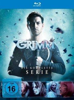 Grimm-Die Komplette Serie (Replenishment) BLU-RAY Box - David Giuntoli,Silas Weir Mitchell,Bitsie...